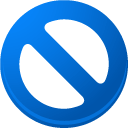 B, nosign DodgerBlue icon