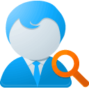 search, partner DodgerBlue icon