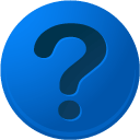 B, question DodgerBlue icon