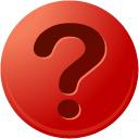 question, r Firebrick icon