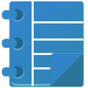scratchpad SteelBlue icon