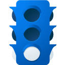 light, Traffic, B DodgerBlue icon