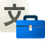 Translatortoolkit DodgerBlue icon