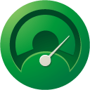 website, Optimizer ForestGreen icon