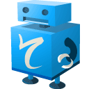 robot, Translate, Lb DodgerBlue icon