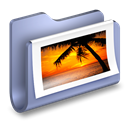 images, Pictures, Folder Black icon