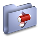 Transmit, torrents, Folder LightSteelBlue icon