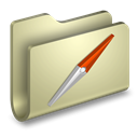 Sites, Folder Tan icon