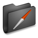 Folder, Sites DarkSlateGray icon