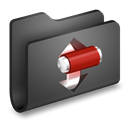 Folder, torrents DarkSlateGray icon