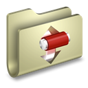 torrents, Folder Tan icon