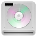 rom, Cd, drive LightGray icon