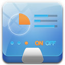 Control, Panel CornflowerBlue icon