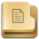 documents Khaki icon