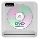 Dvd, drive LightGray icon