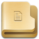 documents, Folder Khaki icon