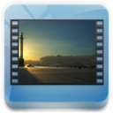 videos, Library DarkSlateGray icon