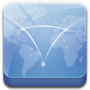 network LightSteelBlue icon