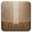 Rar RosyBrown icon