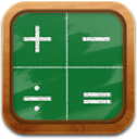 calculator ForestGreen icon