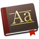 Font, Book DarkSlateGray icon