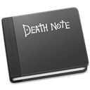 death, Note DarkSlateGray icon
