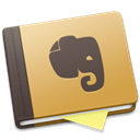 Evernote, Brown Black icon