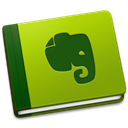 Evernote YellowGreen icon