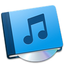 music, Book DodgerBlue icon
