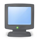 Computer, on, my DimGray icon