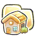 Home, Folder Black icon