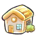 Home, places SandyBrown icon