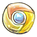 chrome, web Khaki icon
