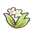 Flower, recycle DarkKhaki icon