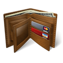 wallet SaddleBrown icon