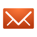 new, red, messages Chocolate icon
