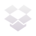 Dropboxstatus, Idle Black icon