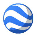 earth RoyalBlue icon