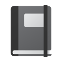 Notebook DimGray icon