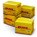 dhl, Shipping DarkGoldenrod icon