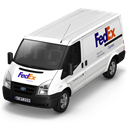 fedex, Front Black icon