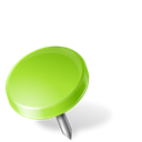 mapmarker, chartreuse, drawingpin, Left Black icon