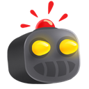 robot DarkSlateGray icon