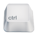 Ctrl Gainsboro icon