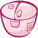 filled, Cooker MistyRose icon