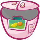 Cooker Gray icon