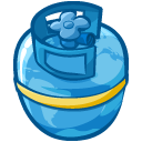 Container, Gas Teal icon