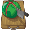 melon, water, Chopped Sienna icon