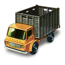 truck, Cattle Black icon