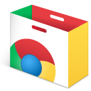 store, chrome, web SandyBrown icon